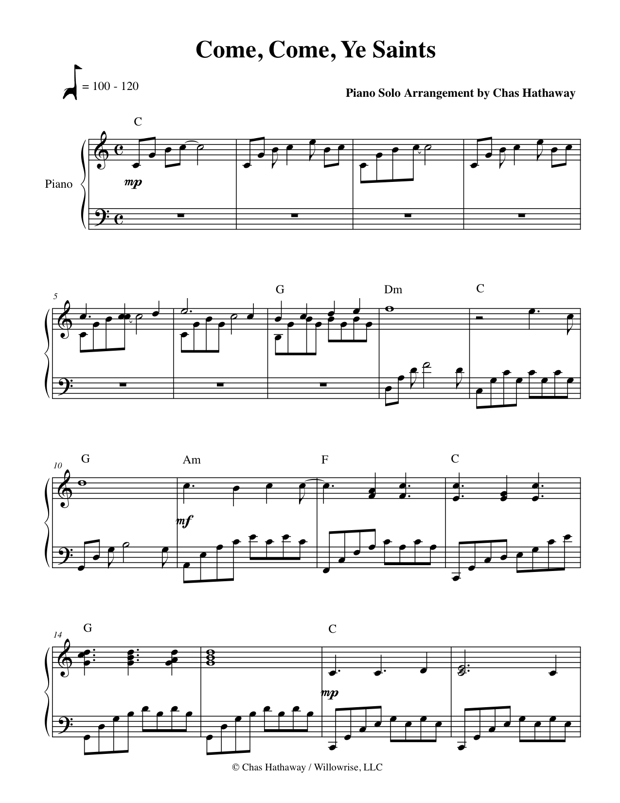 life is worth living piano sheet music pdf